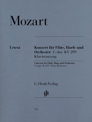 Concerto en Ut Majeur K. 299 297c Pour Flûte, Harpe et Orchestre laflutedepan