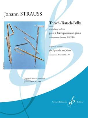 Tritsch-Tratsch Polka Op. 214 Johann (Fils) Strauss laflutedepan