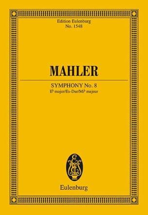 Symphonie n° 8 en Mib Majeur MAHLER Partition laflutedepan