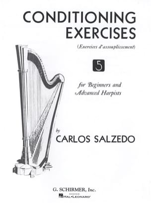 Conditioning Exercises Carlos Salzedo Partition Harpe - laflutedepan