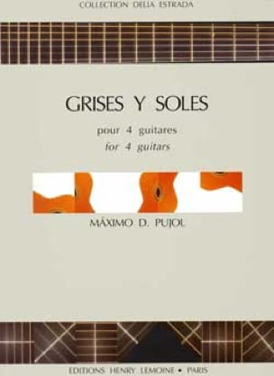 Grises y Soles - Maximo Diego Pujol - Partition - laflutedepan.com