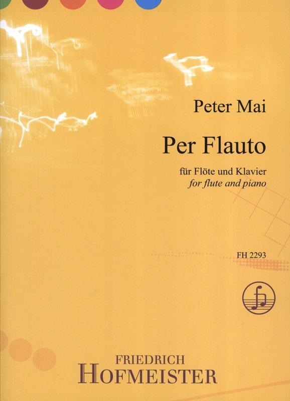 Per Flauto - Peter Mai - Partition - laflutedepan.com