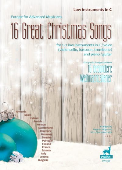 16 Great Christmas Songs - Traditionnels - laflutedepan.com