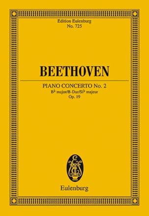 Klavier-Konzert Nr. 2 B-Dur BEETHOVEN Partition laflutedepan