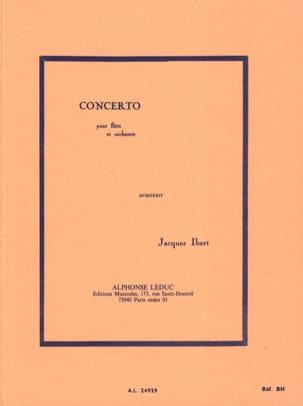 Concerto pour flûte - Conducteur IBERT Partition laflutedepan