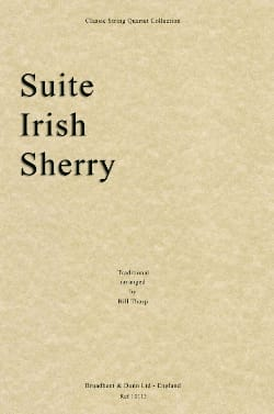 Suite Irish Sherry - String quartet Bill Thorp Partition laflutedepan