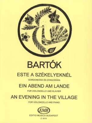 Ein Abend am Lande - Cello BARTOK Partition Violoncelle - laflutedepan