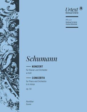 Konzert für Klavier und Orchester Op. 54 SCHUMANN laflutedepan
