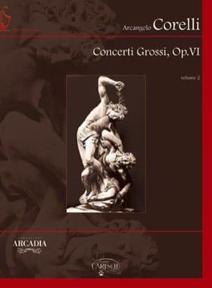 Concerti Grossi Opus 6 Volume 2 Rom CORELLI Partition laflutedepan