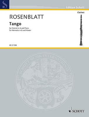Tango - Clarinette et piano Alexander Rosenblatt laflutedepan