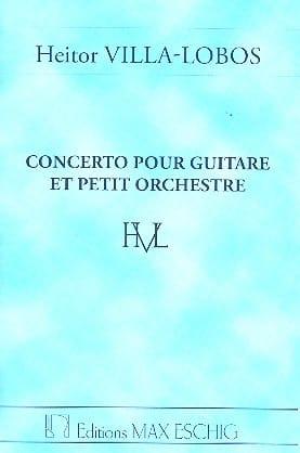 Concerto pour guitare et petit orch. - Conducteur - laflutedepan.com