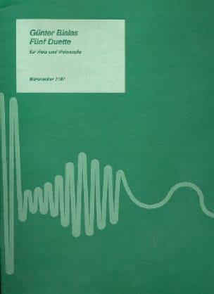 Fünf Duette 1988 - Günter Bialas - Partition - 0 - laflutedepan.com