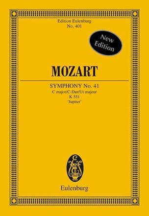 Symphonie Nr. 41 C-Dur KV 551 Jupiter mit der Schlussfuge - Partitur laflutedepan