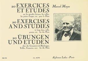 20 Exercices et Etudes Marcel Moyse Partition laflutedepan