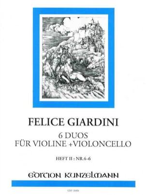 6 Duos für Violine + Violoncello - Heft 2 n° 4-6 laflutedepan