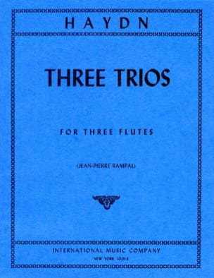 3 Trios - 3 Flutes HAYDN Partition Flûte traversière - laflutedepan