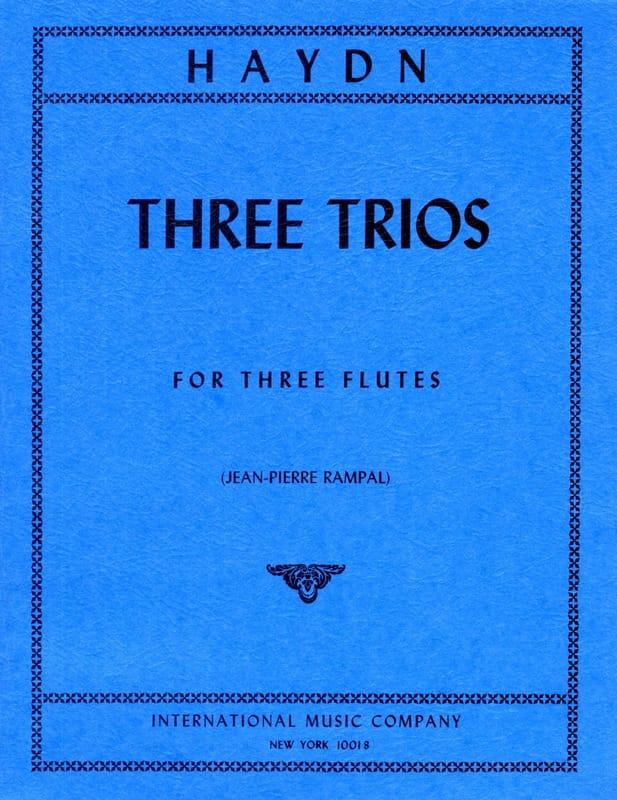 3 Trios - 3 Flutes - HAYDN - Partition - laflutedepan.com