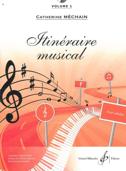 Itinéraire Musical - Volume 1 - Catherine Méchain - laflutedepan.com