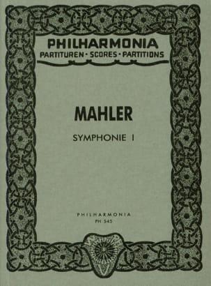 Symphonie Nr. 1 D-Dur - Partitur MAHLER Partition laflutedepan