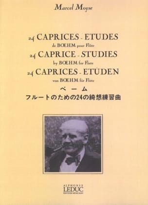 24 Caprices-Etudes, op. 26 Theobald Boehm Partition laflutedepan