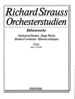Orchesterstudien - Viola - Heft 1 Richard Strauss laflutedepan