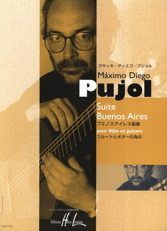 Suite Buenos Aires - Maximo Diego Pujol - Partition - laflutedepan.com