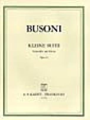 Kleine Suite op. 23 - BUSONI - Partition - laflutedepan.com