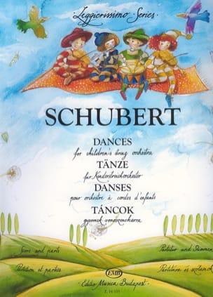 Dances For Children's String Orchestra SCHUBERT Partition laflutedepan
