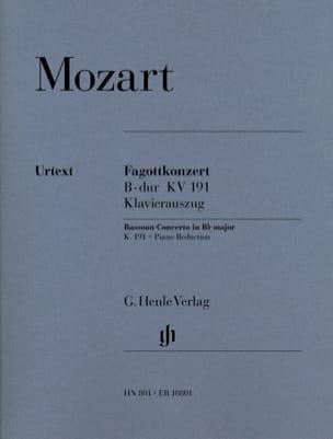 Concerto pour basson en Si bémol majeur KV 191 - laflutedepan.com