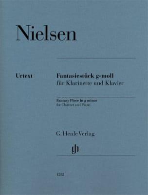 Fantasiestück en sol mineur - Clarinette et piano NIELSEN laflutedepan