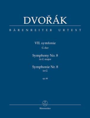 Symphonie n° 8, op. 88 - Antonin Dvorak - Partition - laflutedepan.com