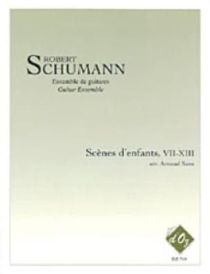 Scènes d'enfants VII à XIII arrgt A.Sans - Ensemble de guitares - laflutedepan.com