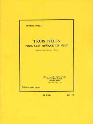 3 Pièces pour une Musique de Nuit - Flûte Hautbois Clarinette Basson laflutedepan
