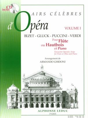 Airs célèbres d'opéra - Volume 1 - Flûte ou hautbois laflutedepan