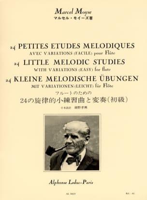 24 Petites Etudes Mélodiques avec Variations Marcel Moyse laflutedepan