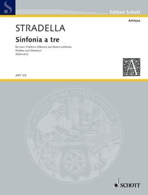 Sinfonie a tre -2 Violinen u. Bc - laflutedepan.com