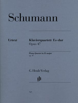 Quatuor avec piano en Mi bémol majeur op. 47 SCHUMANN laflutedepan