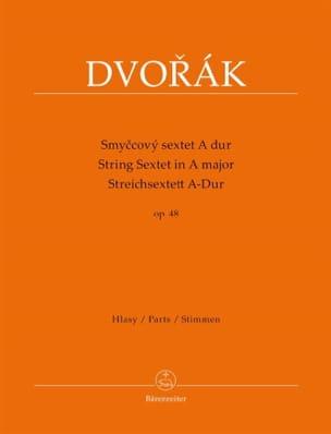 Sextuor à Cordes en La Majeur op. 48 - Stimmen DVORAK laflutedepan
