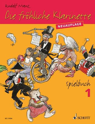 Die Fröhliche Klarinette - Spielbuch 1 Rudolf Mauz laflutedepan