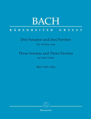 Johann Sebastian Bach - Partition - di-arezzo.co.uk