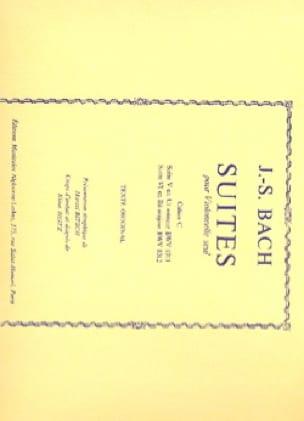 Suites, Cahier C - BACH - Partition - Violoncelle - laflutedepan.com