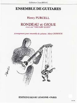 Rondeau & Gigue - 5 Guitares PURCELL Partition Guitare - laflutedepan