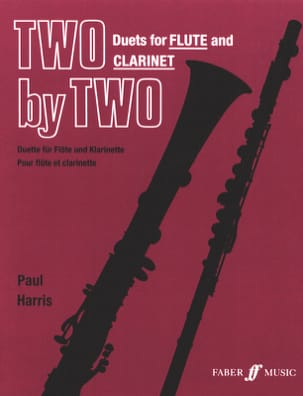 Two by Two - Flute clarinet Paul Harris Partition Duos - laflutedepan