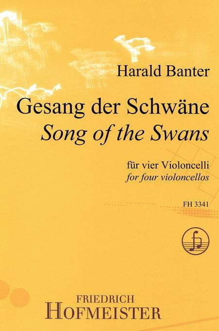 Song Of The Swans - Harald Banter - Partition - laflutedepan.com