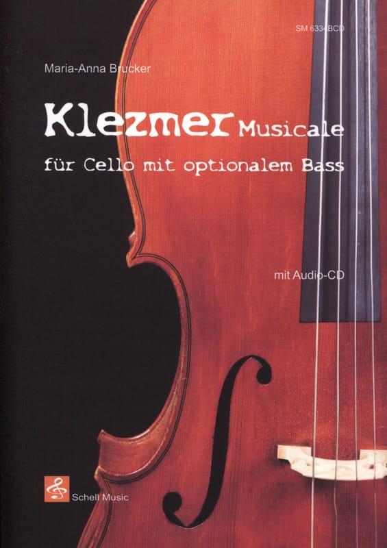 Klezmer Musicale - Maria-Anna Brucker - Partition - laflutedepan.com