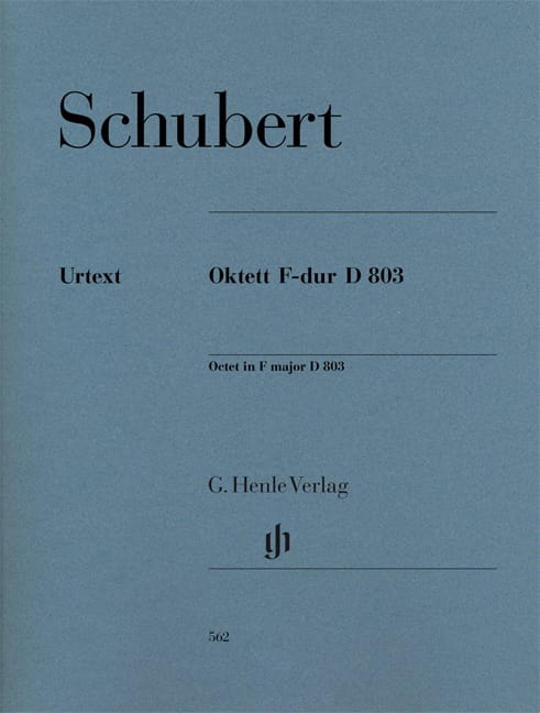 Octuor en Fa Majeur D. 803 Op. Posth 166 - Parties - laflutedepan.com