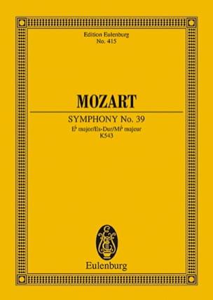 Symphonie Es-Dur KV 543 - Partitur - MOZART - laflutedepan.com