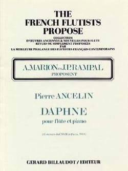 Daphné Pierre Ancelin Partition Flûte traversière - laflutedepan