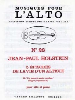 En Jouant A Saute-Croches N°2 Jean-Paul Holstein laflutedepan
