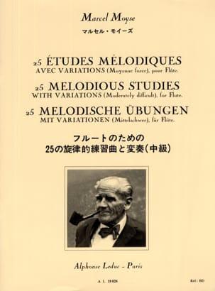 Marcel Moyse - 25 Melodic studies - Flute - Partition - di-arezzo.com